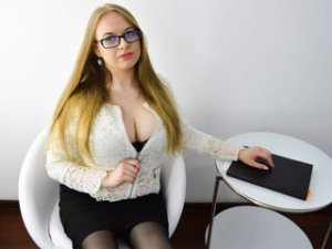 Blonde Webcam Sex von OraFay